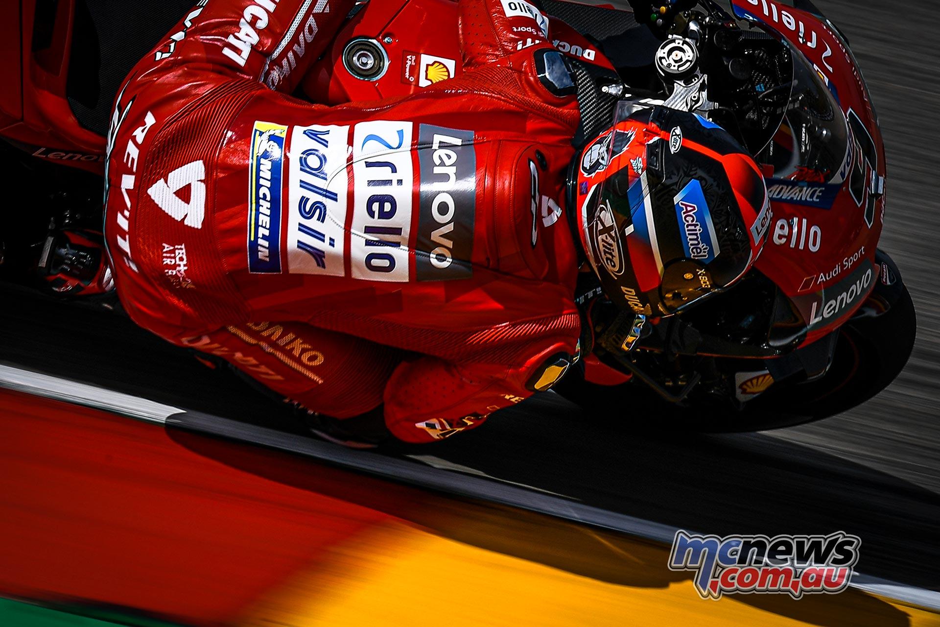 MotoGP Rnd Sachsenring QP Petrucci