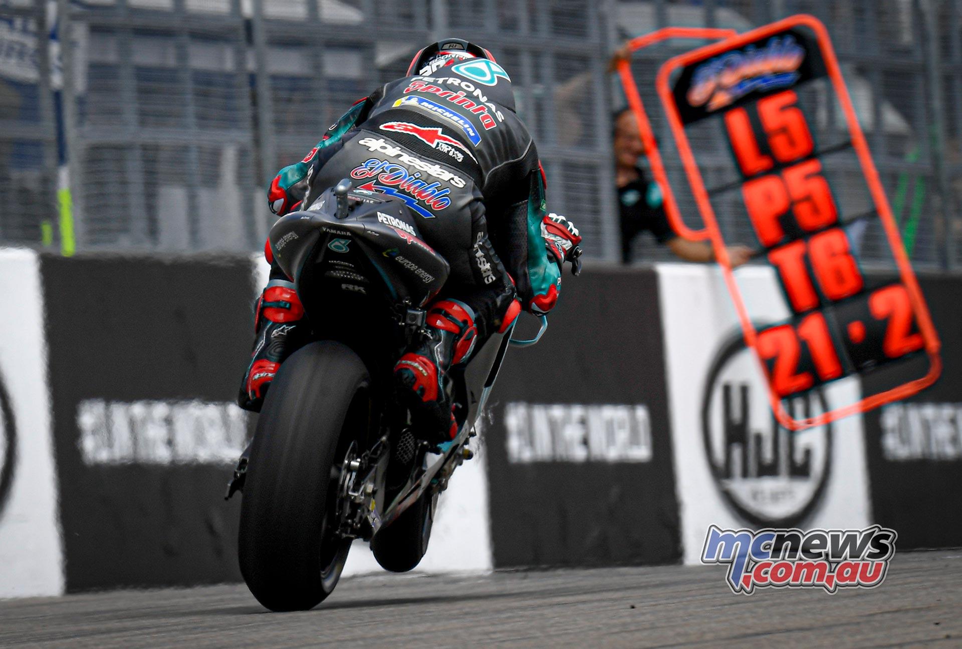 MotoGP Rnd Sachsenring QP Quartararo