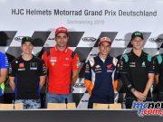 MotoGP Rnd Sachsenring Thu L R Mir Viñales Petrucci Marquez Quartararo Morbidelli