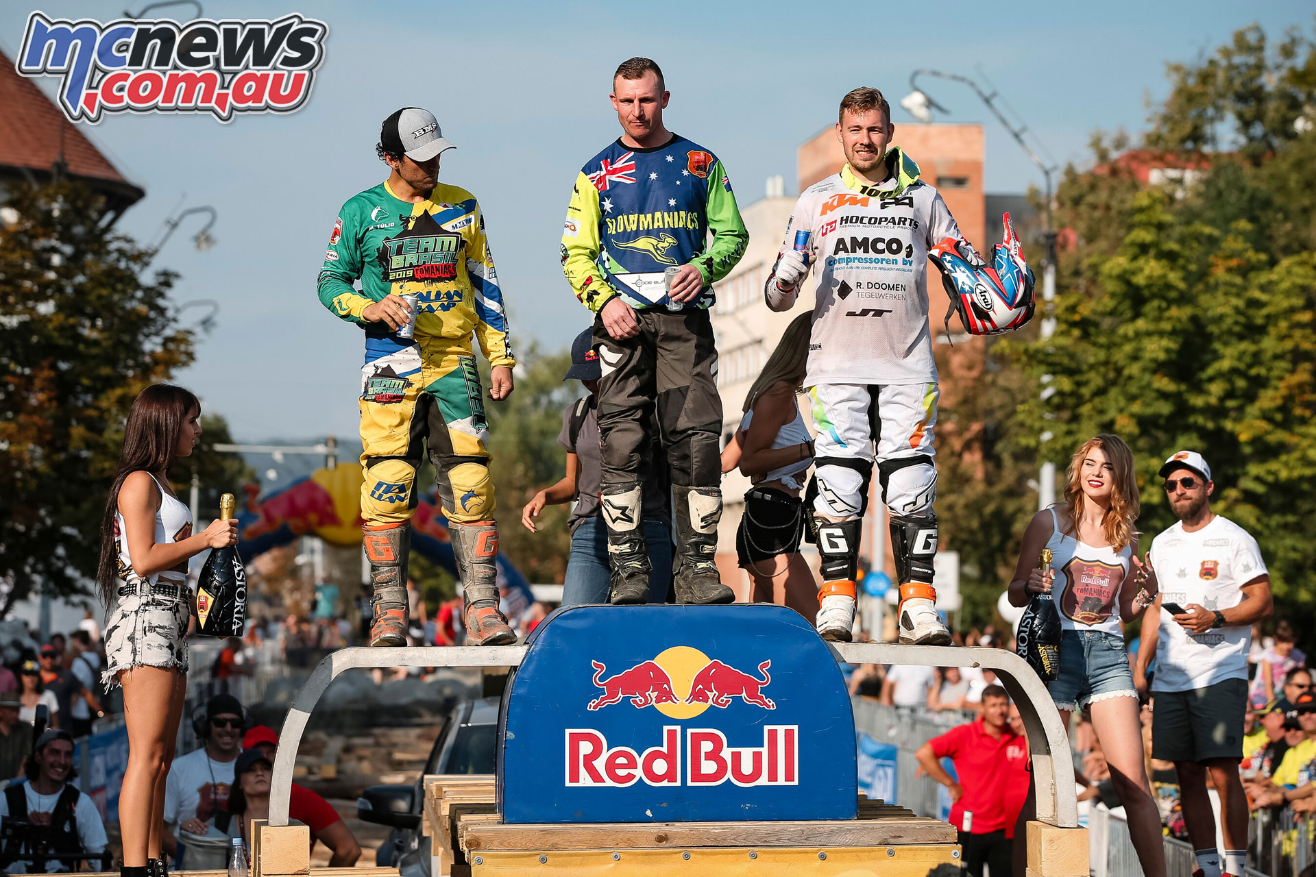 Red Bull Romaniacs WESS Rnd Prologue Bronze Podium FM