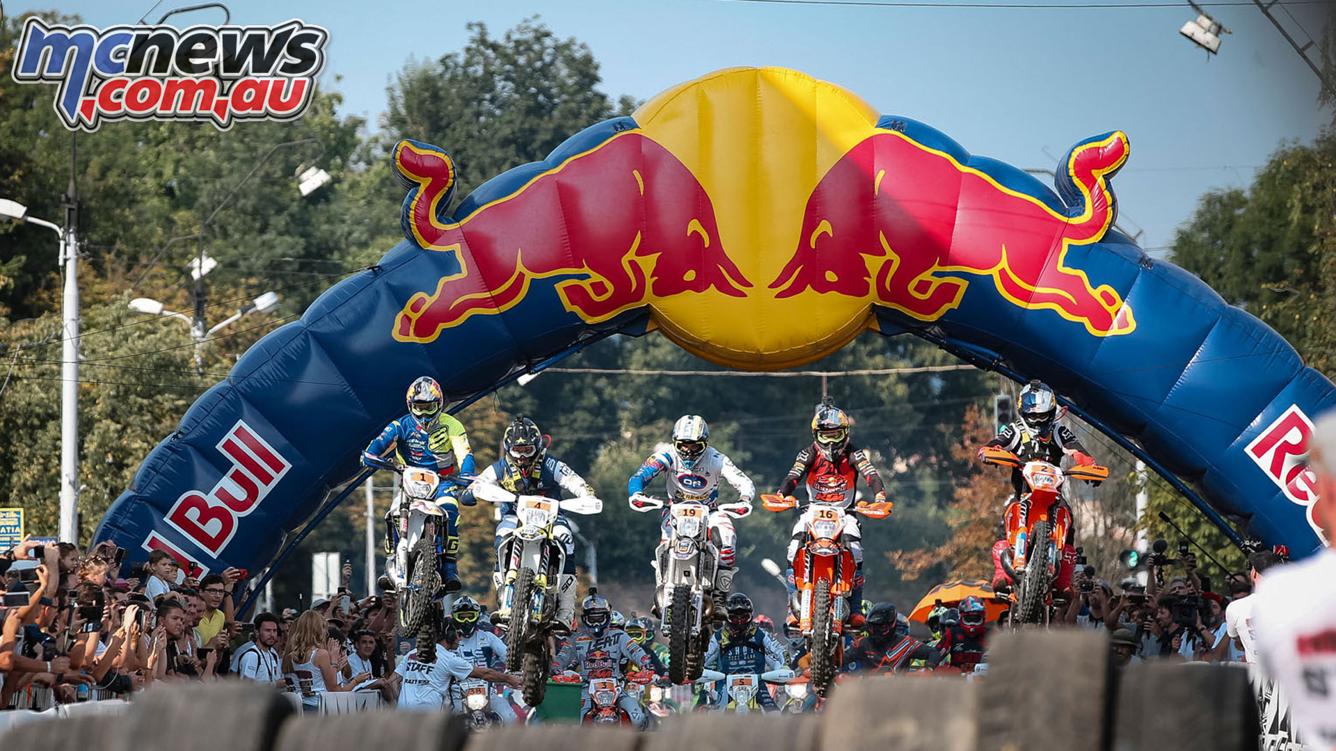 Red Bull Romaniacs WESS Rnd Prologue Start