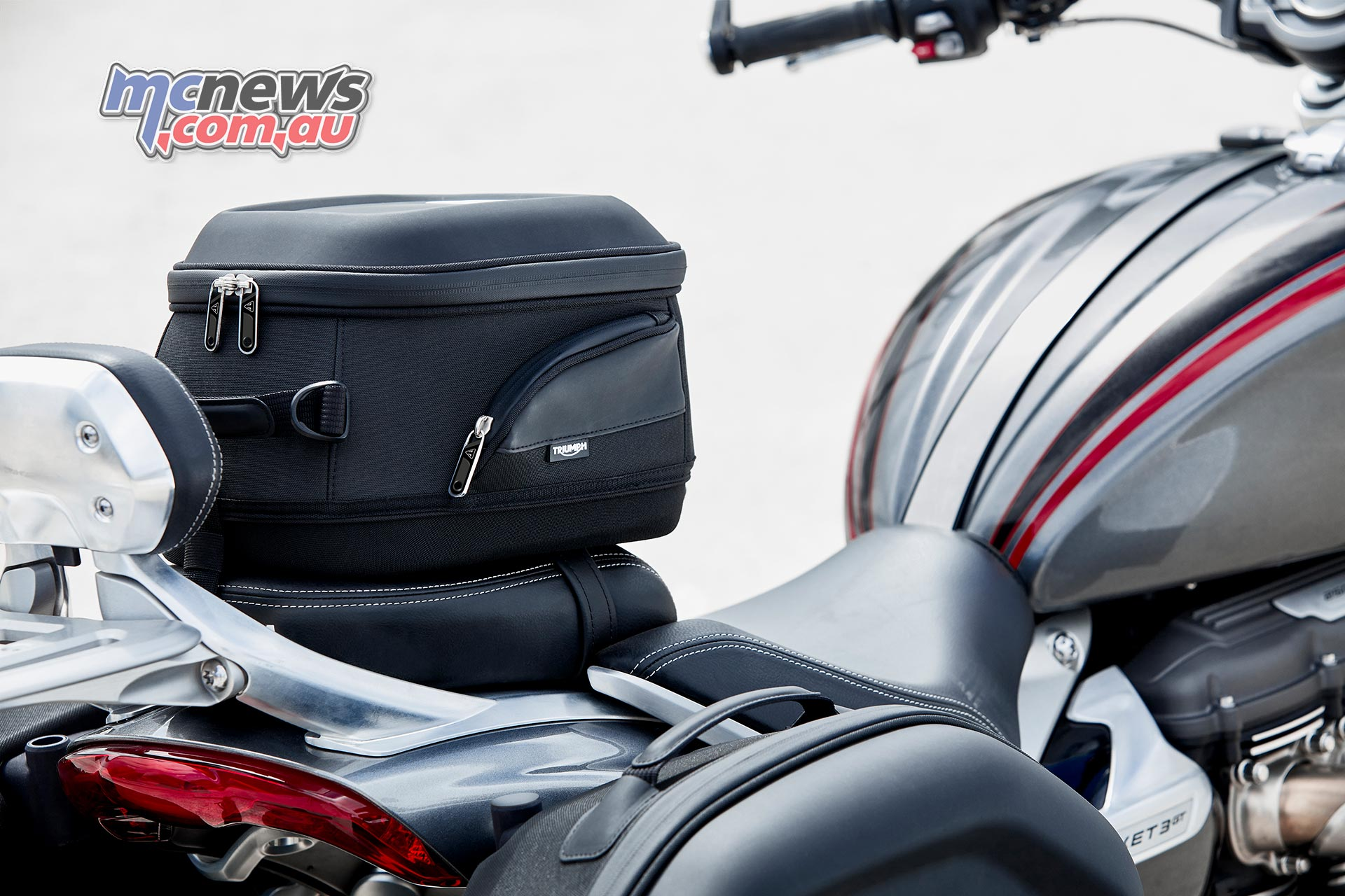 Triumph Rocket Accessories Quick Release TailBag