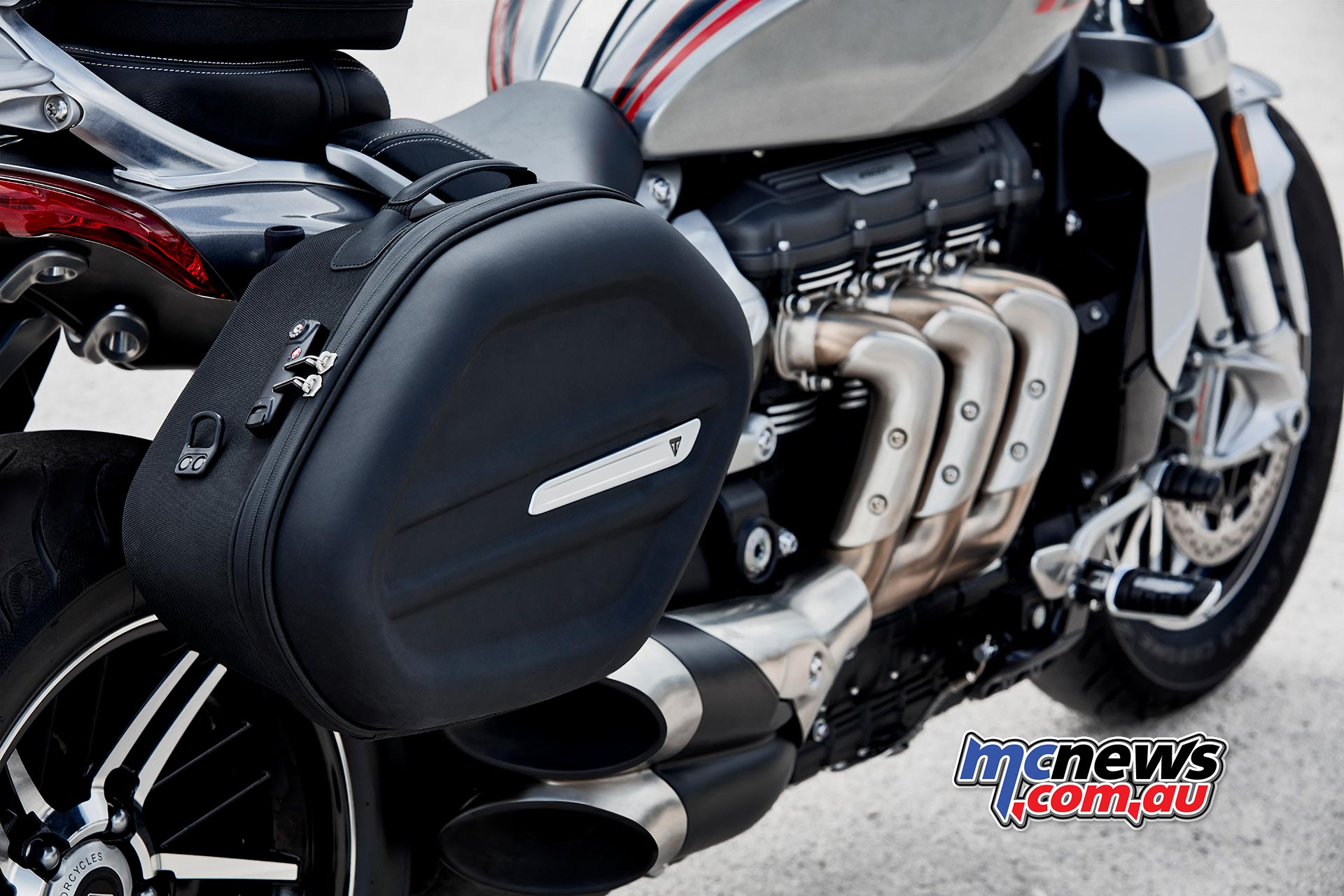 Triumph Rocket Accessories Sports Panniers
