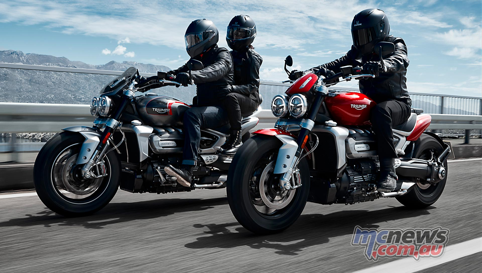Triumph Rocket GT And R