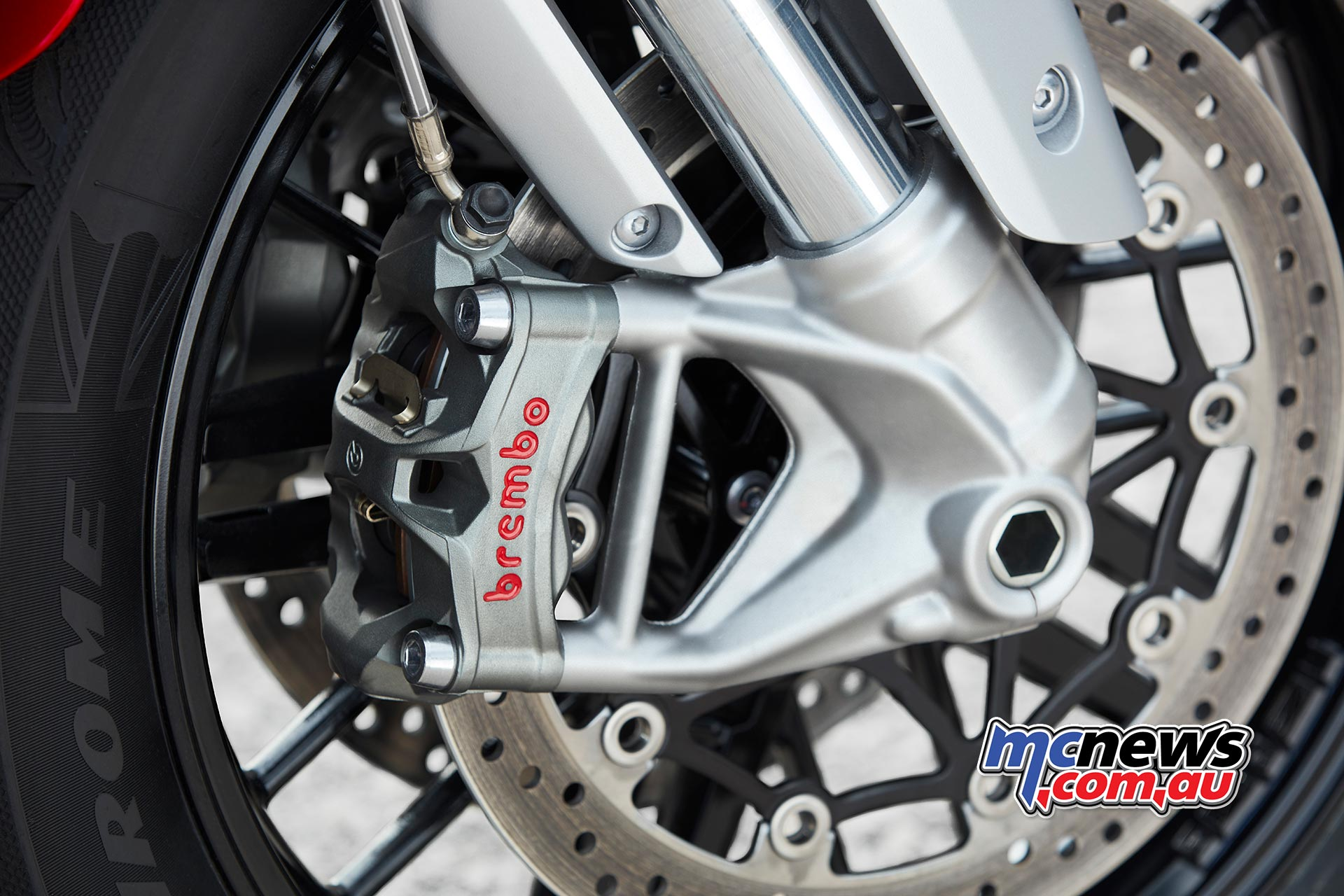 Triumph Rocket GT Brembo Stylema Brakes