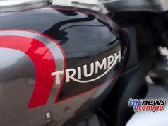 Triumph Rocket GT Triumph Tank Logo