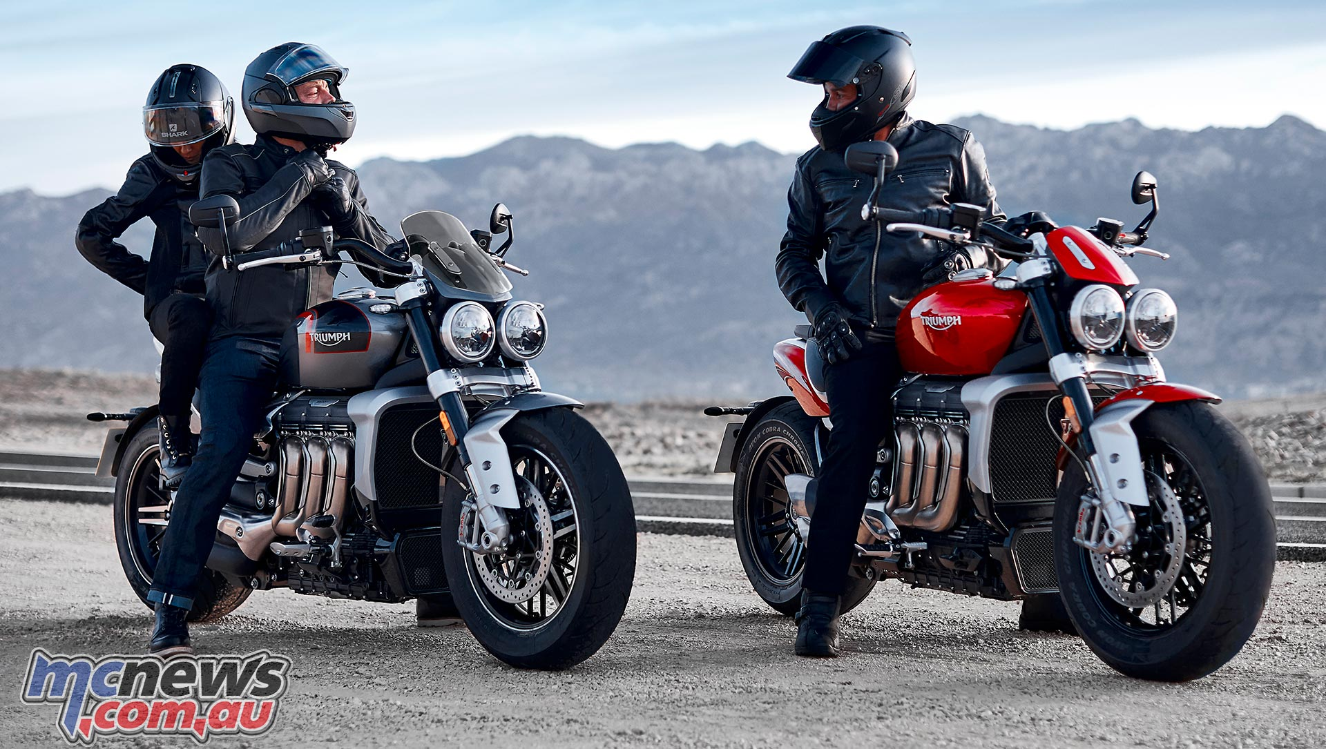 Triumph Rocket R And GT Static