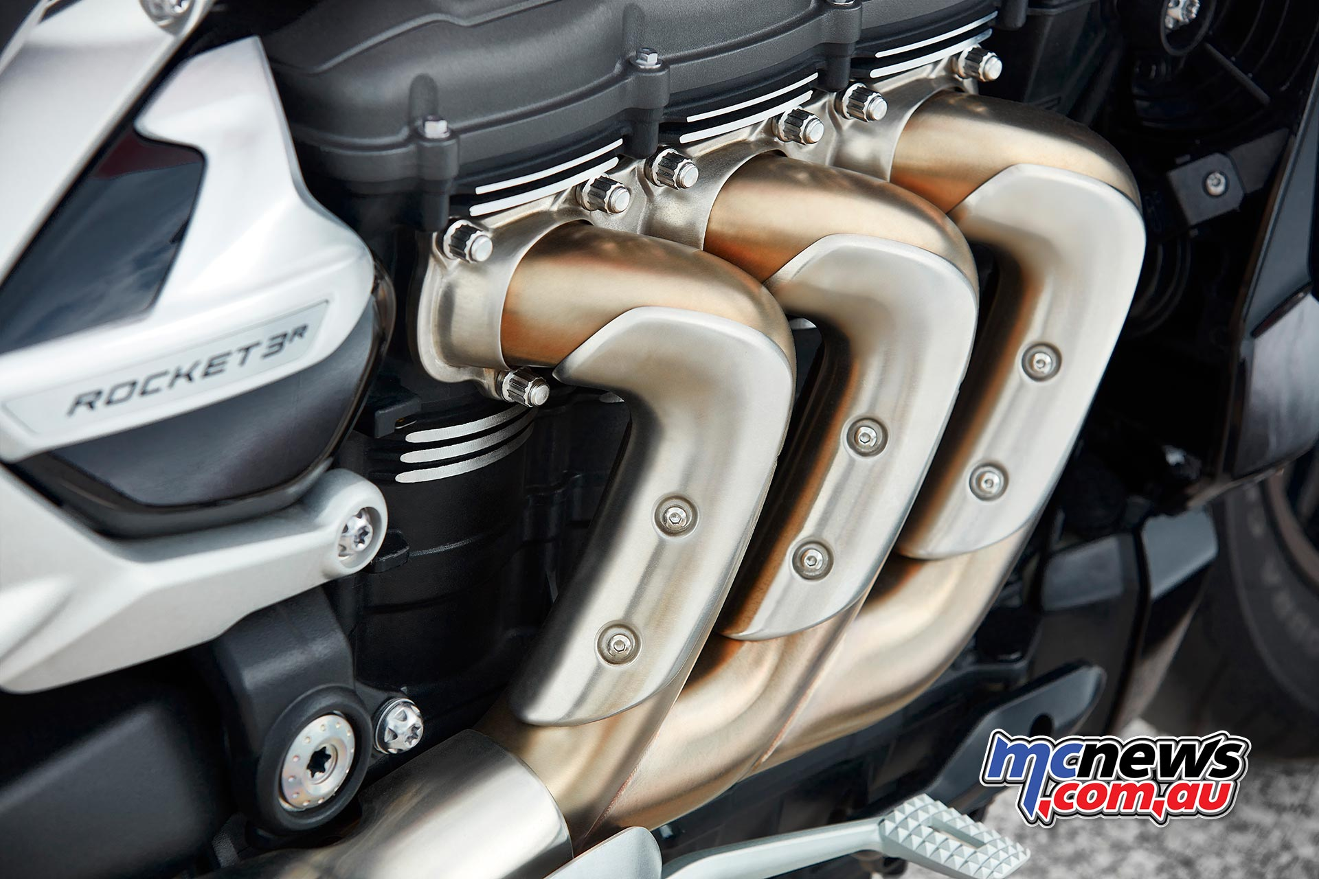 Triumph Rocket R Engine Headers