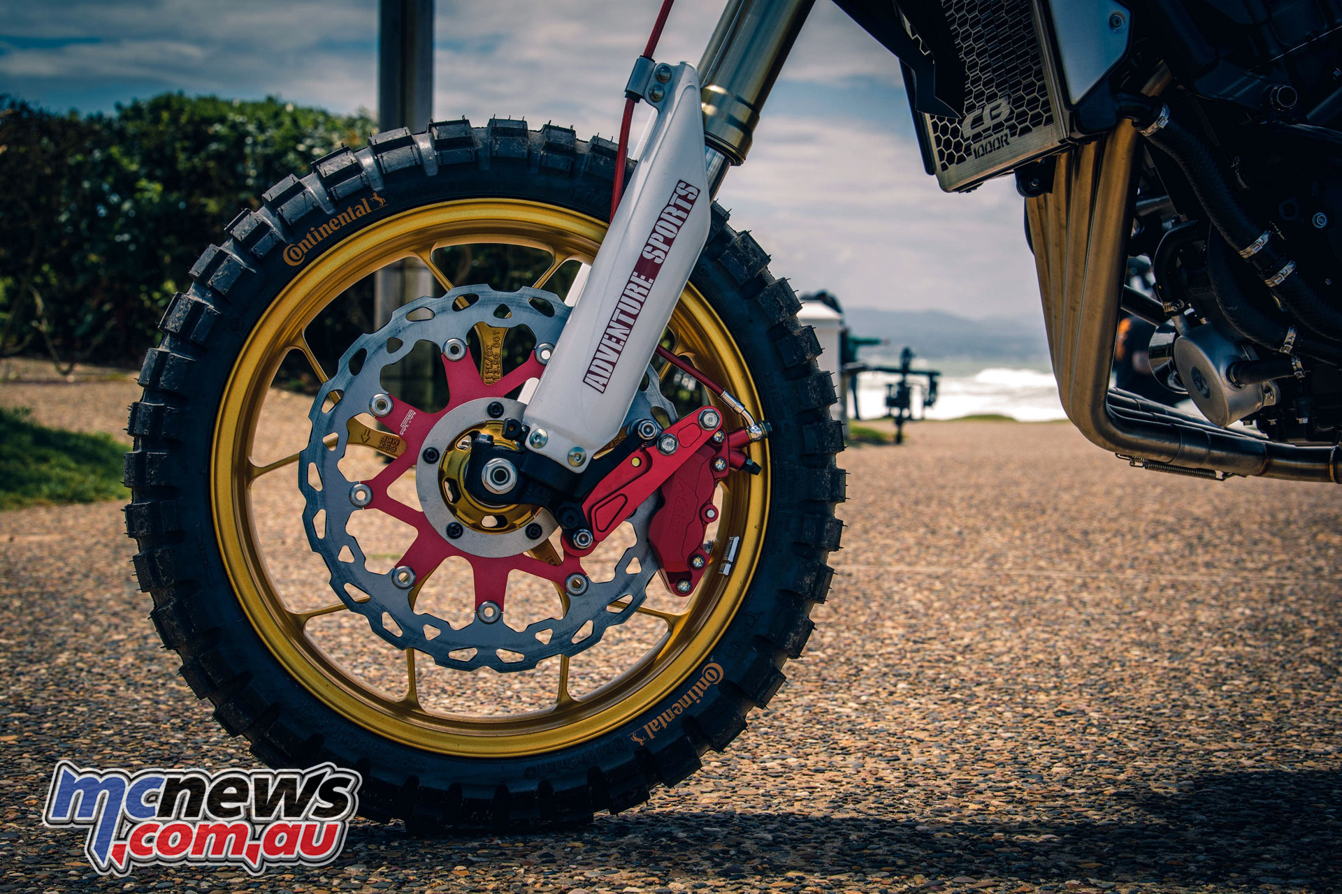 Wheels Waves Honda Africa Four CRFR