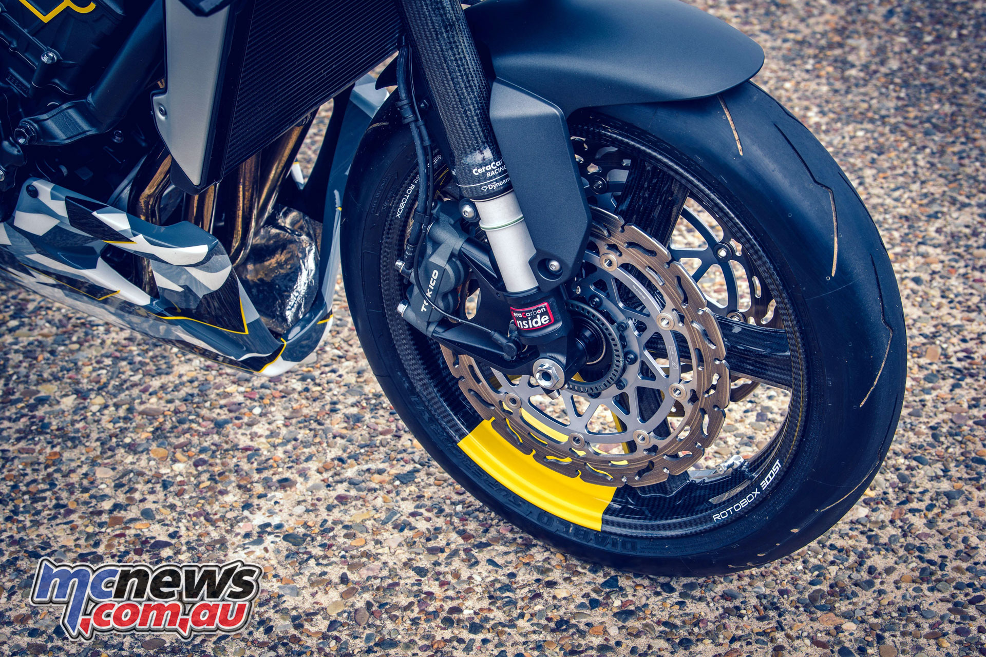 Wheels Waves Honda CBR adical