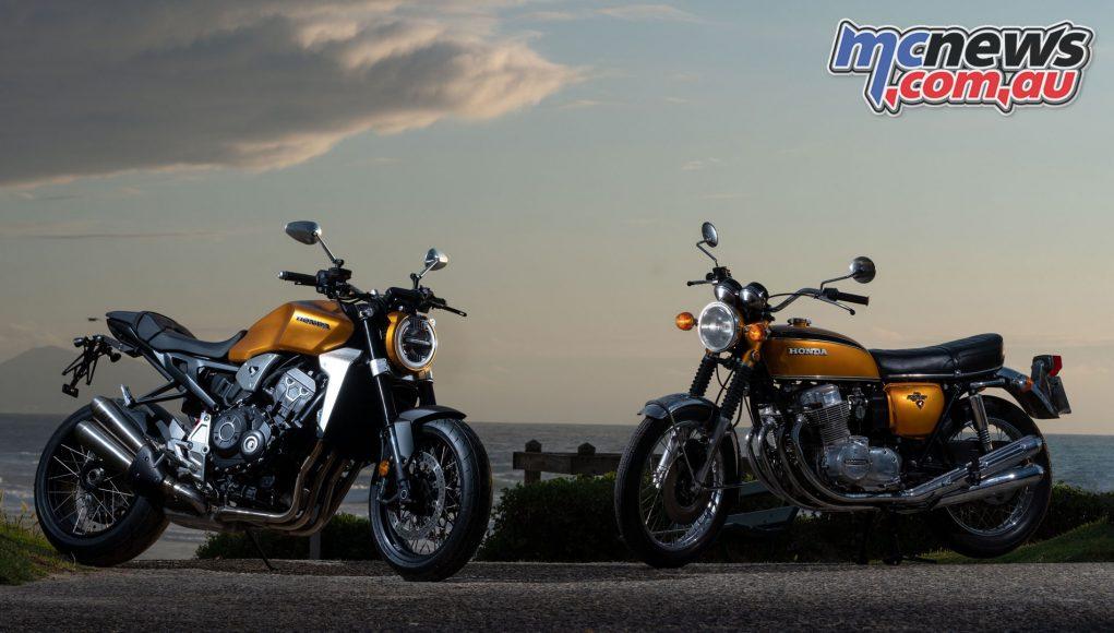 Wheels Waves Honda CBR Tribute and Gold CB
