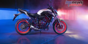 Yamaha MT LA RHS