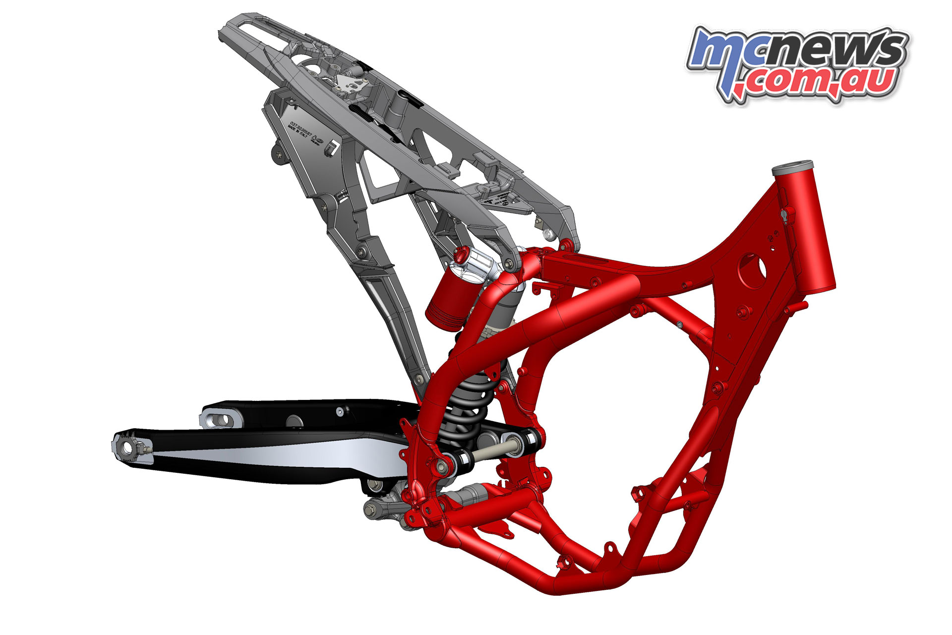 Beta RR enduro Frame