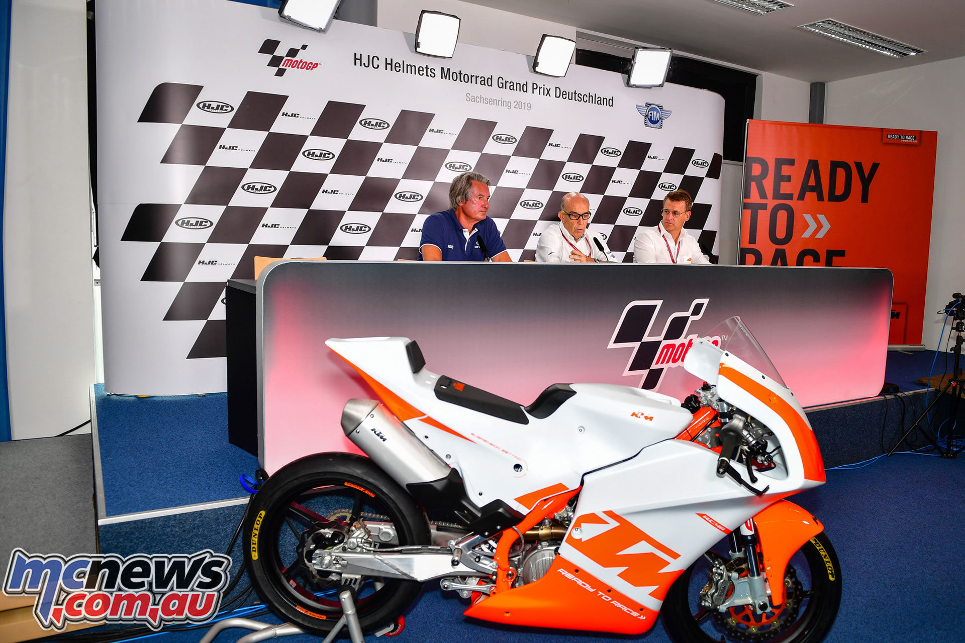 Northern Talent Cup Press Conference Tomczyk Ezpeleta Beirer
