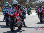 ASBK Rnd Morgan Park RbMotoLens SBK Race Start