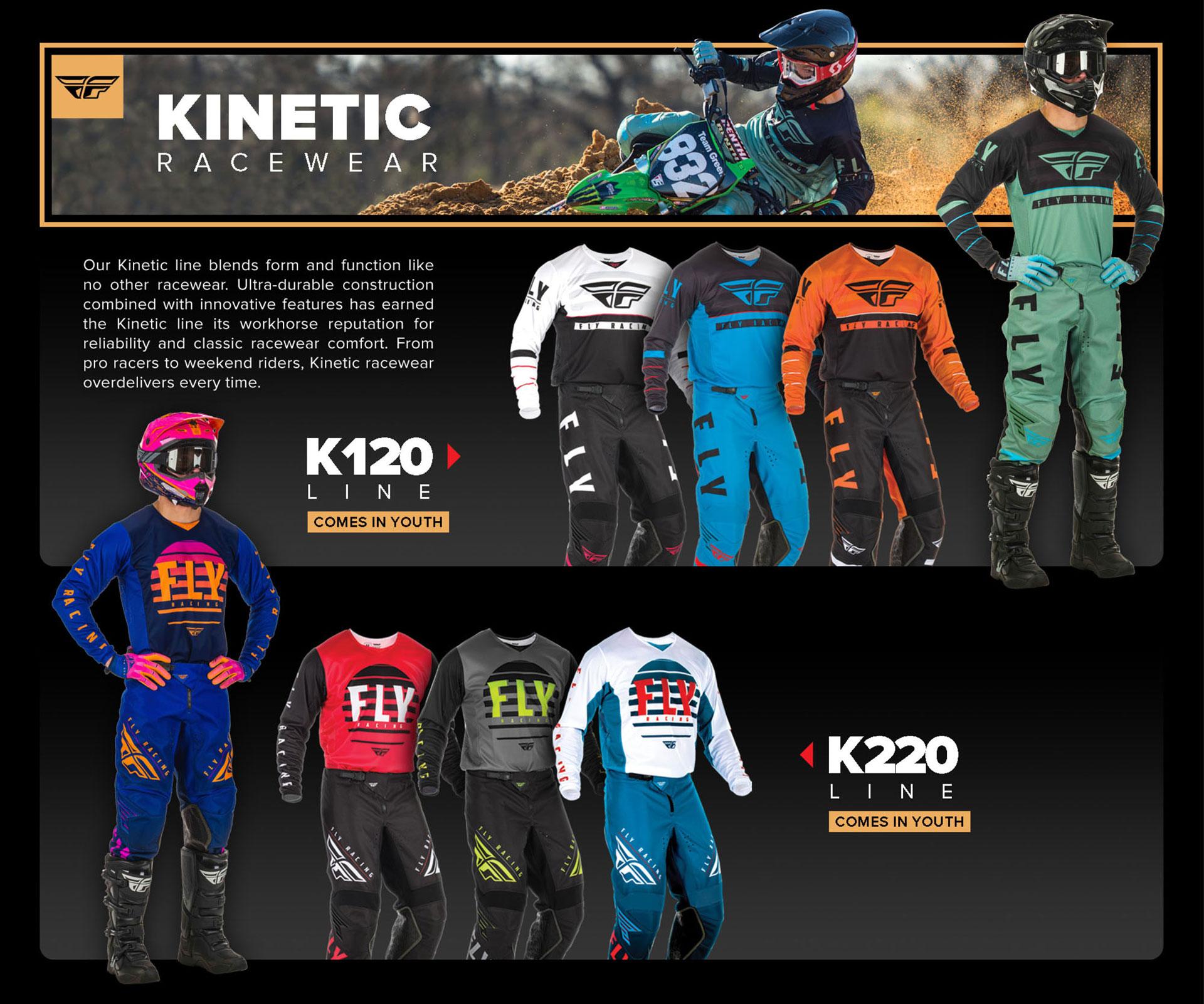 Fly Racing Kinetic Racewear