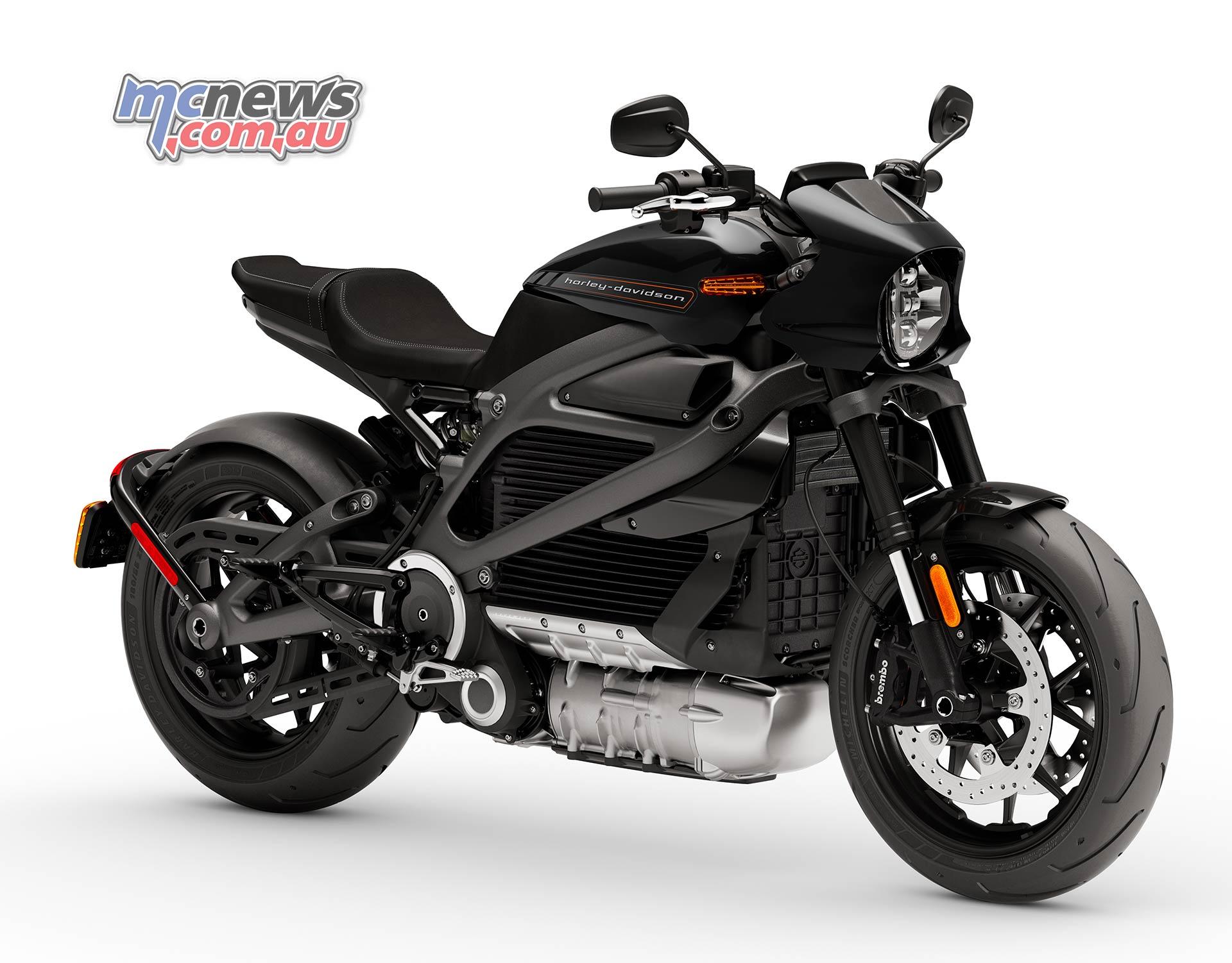 Harley Davidson Livewire 0 100 In 3s 152km Range