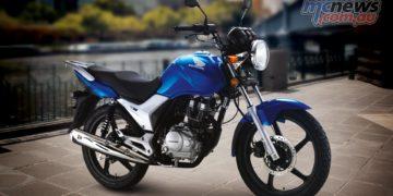 Honda CBE Blue