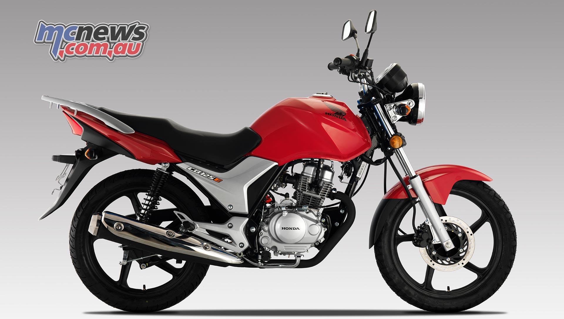 Honda CBE Red