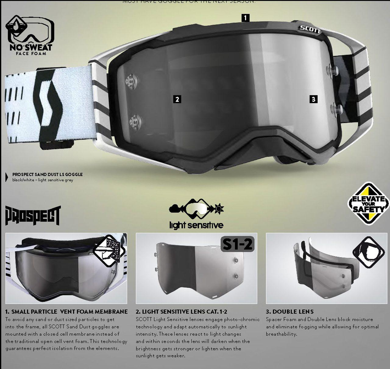Scott Prospect Sand Dust LS Goggle