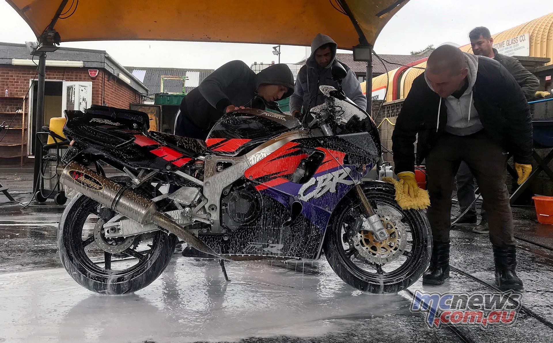 Wash Bikes Felixstowe