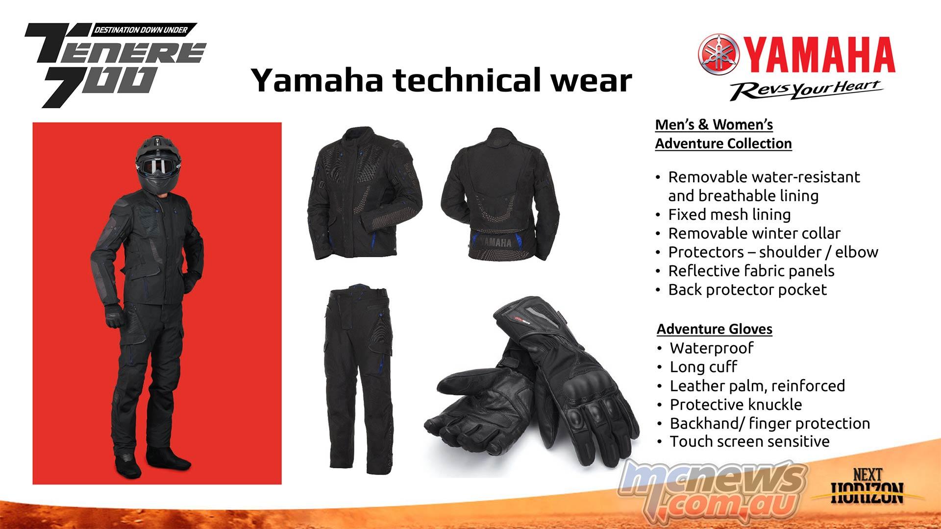 Yamaha Technical Wear Adventure