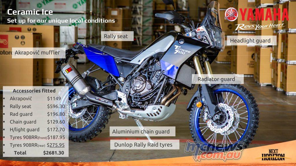 Yamaha Tenere Acessories