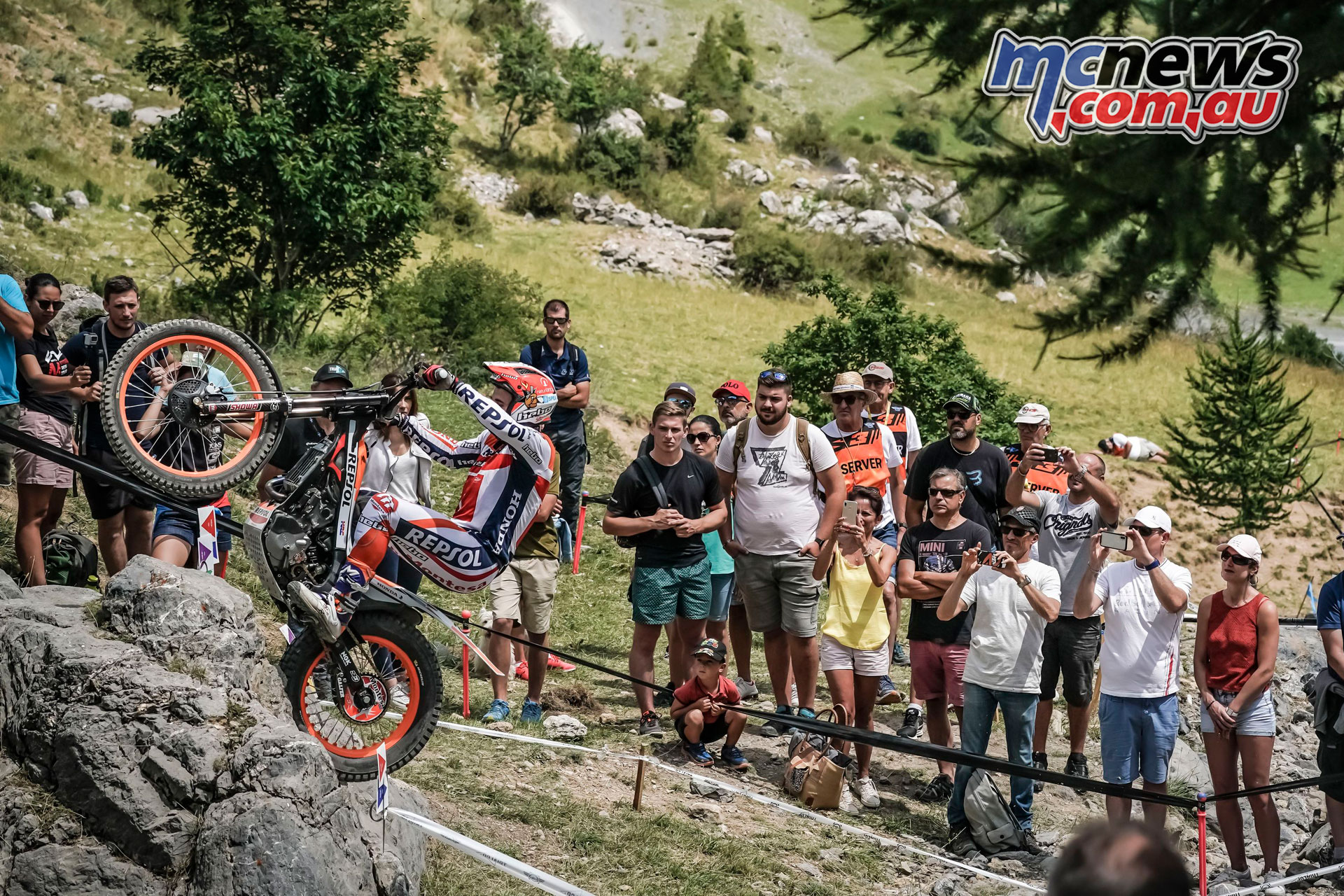 trialgp auron france Toni Bou