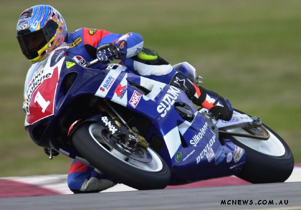 ASBK Superbike Winton Shawn Giles