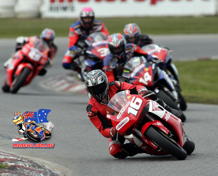 ASBK Superbike Winton Gobert Allerton Bugden Giles Brookes