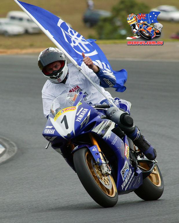Australian Superbike Champion Jamie Stauffer