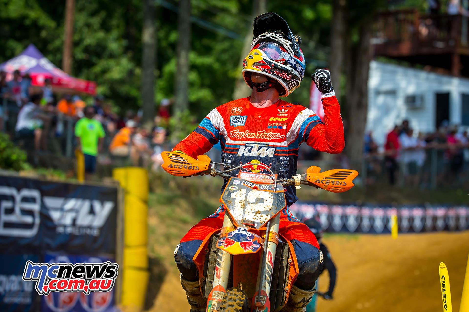 AMA MX Red Bud Shane McElrath Win