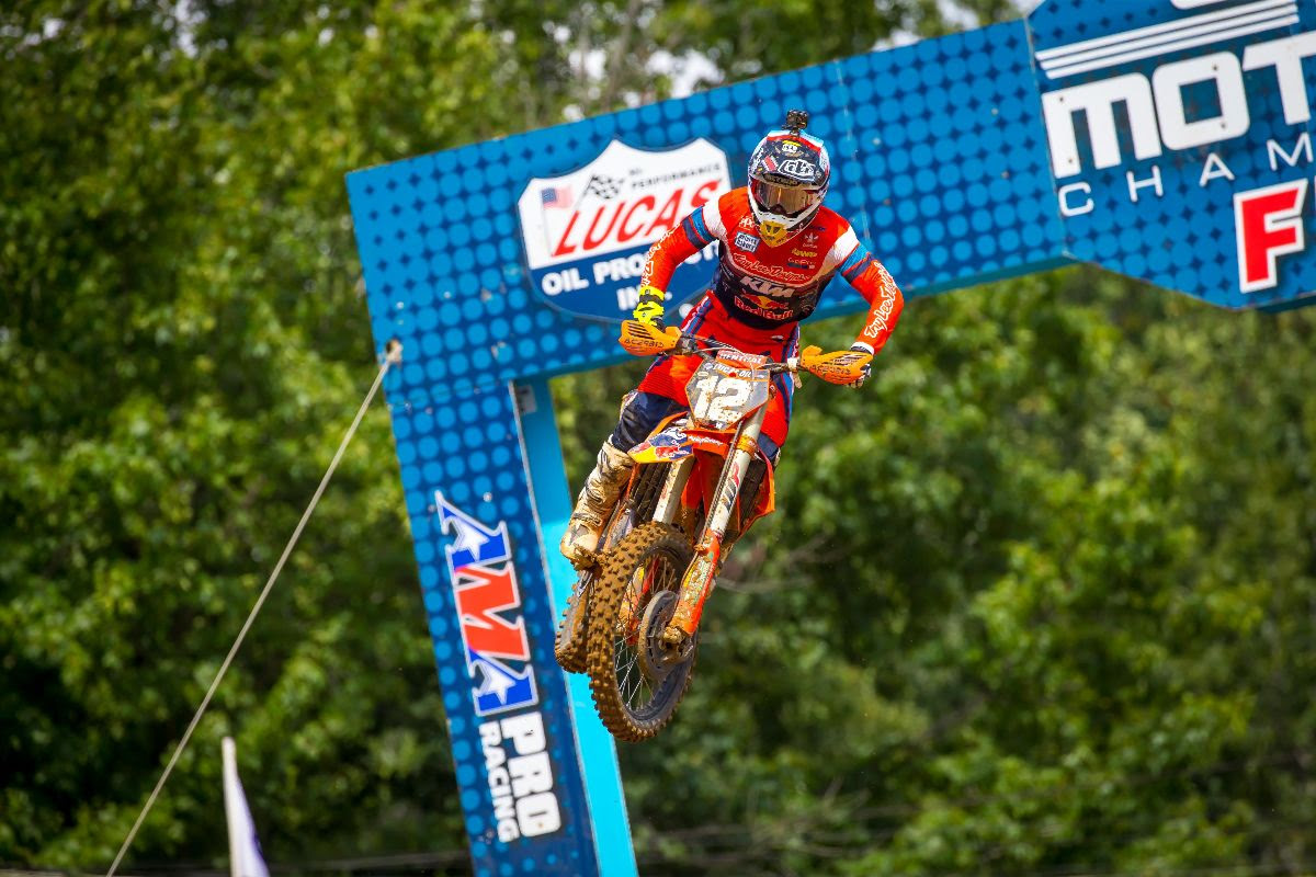 AMA MX Red Bud Shane McElrath