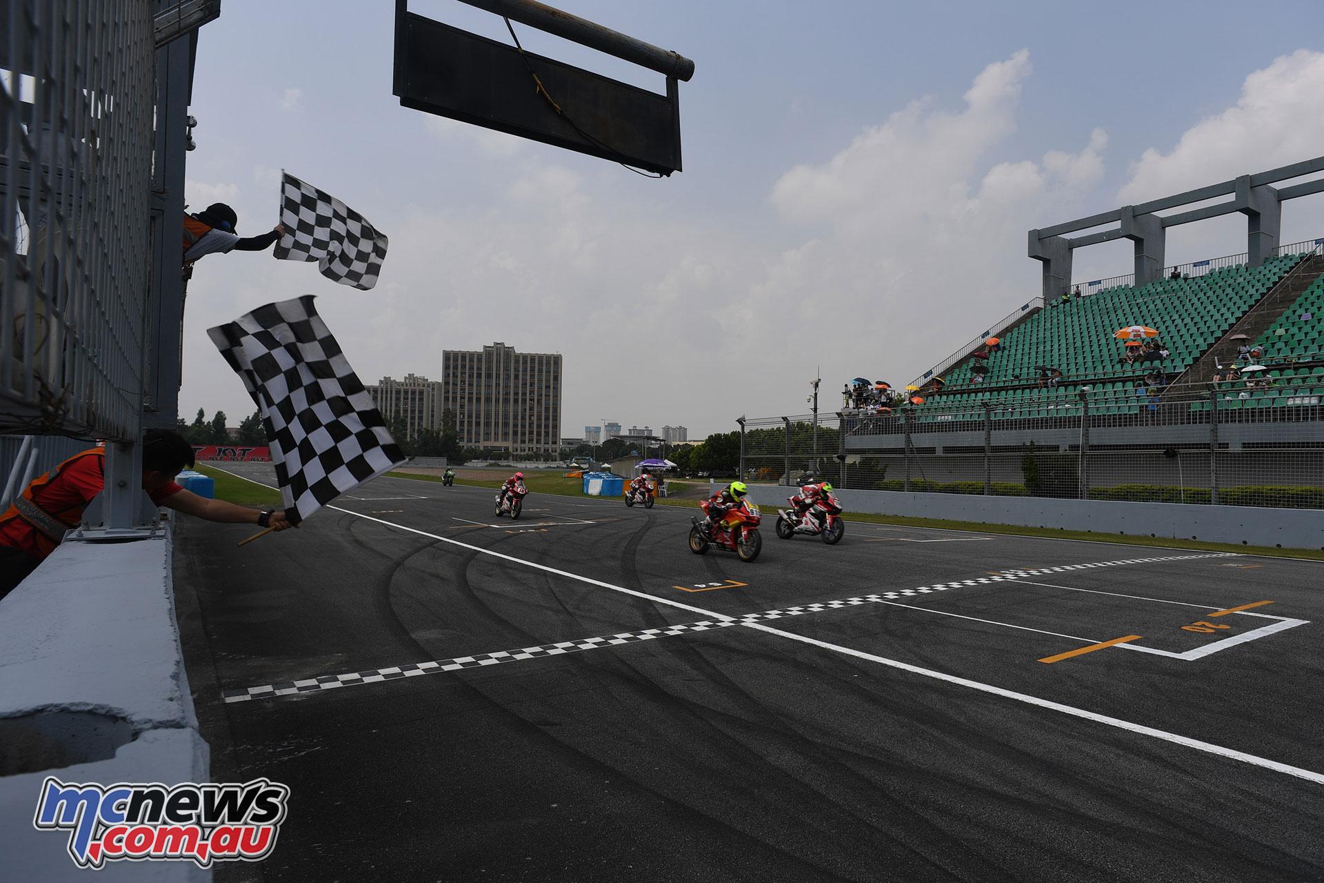 ARRC Round China ARRC AP Race Finish