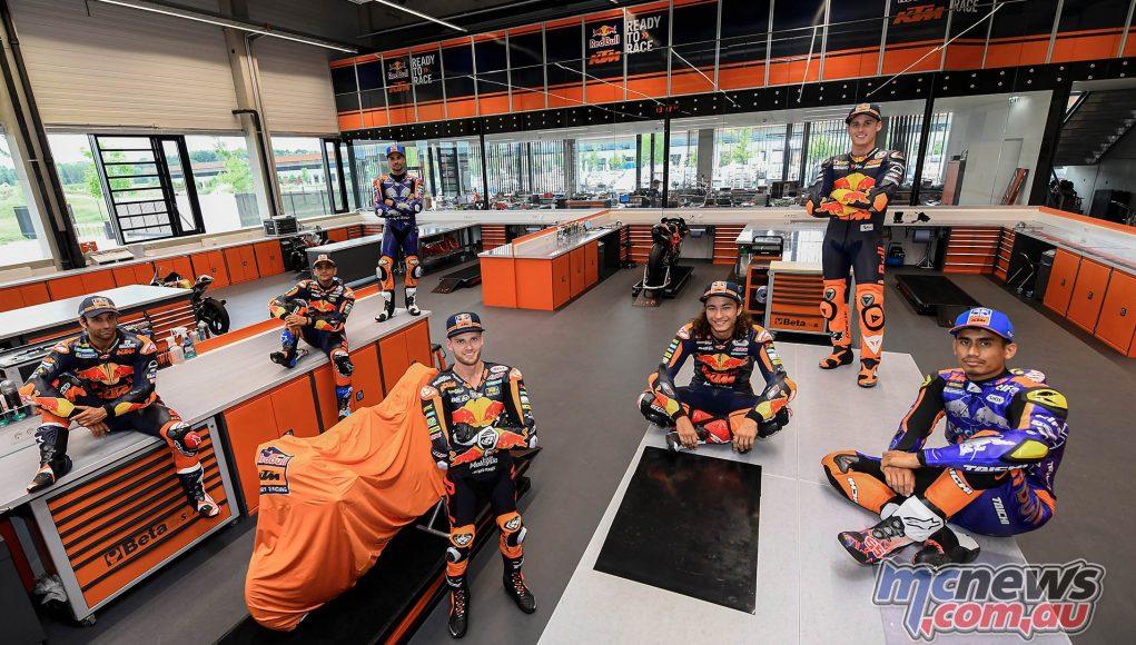 Austria Pre KTM Riders