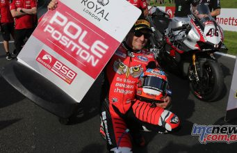 BSB Cadwell Park Qualifying Josh Brookes Pole