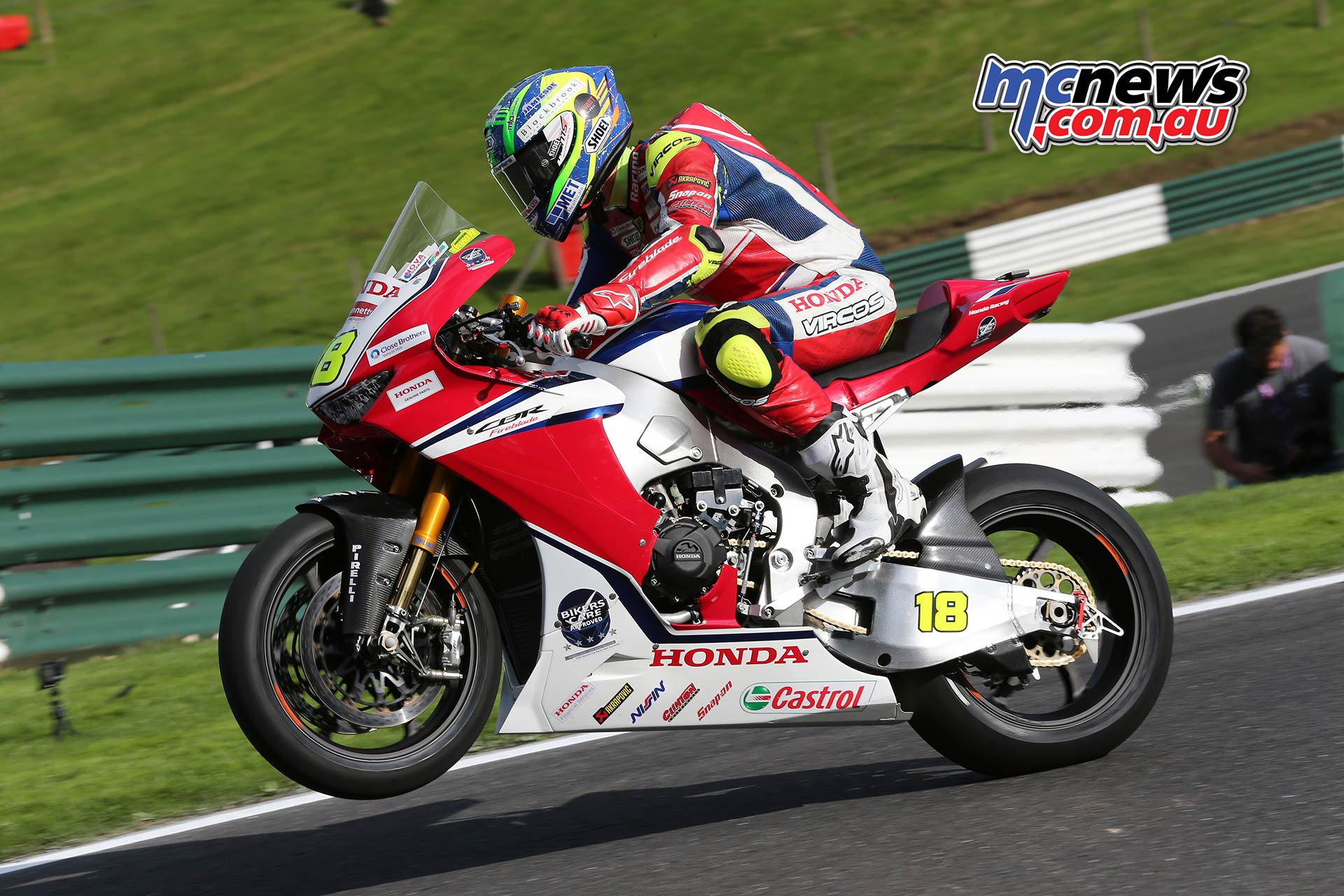BSB Cadwell Park Test Andrew Irwin