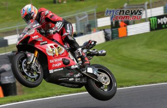 BSB Cadwell Park Test Josh Brookes Cover
