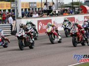 British Superbike BSB Rnd Thruxton Bridewell Start FAROA
