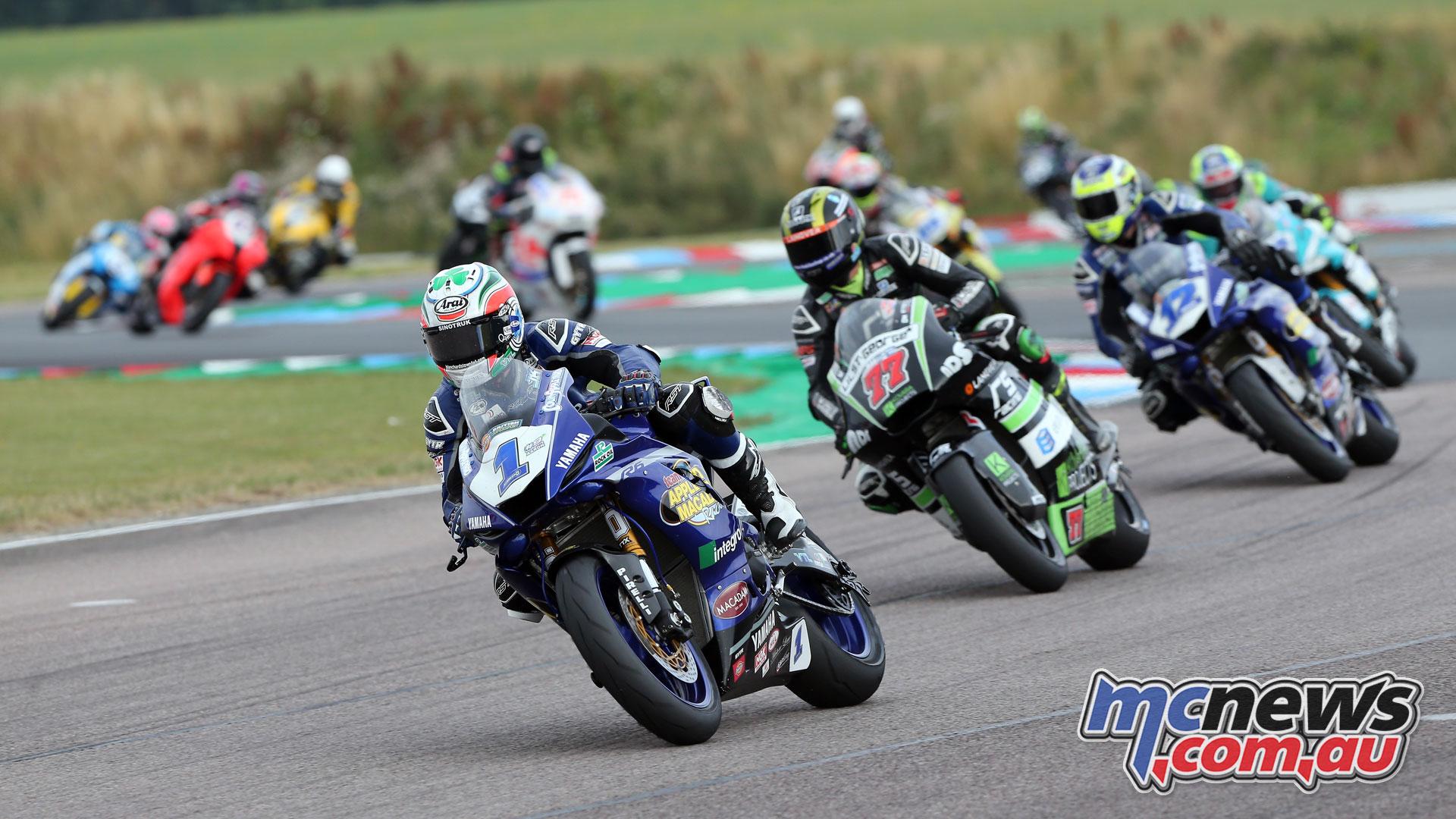 British Superbike BSB Rnd Thruxton Jack Kennedy AUYA