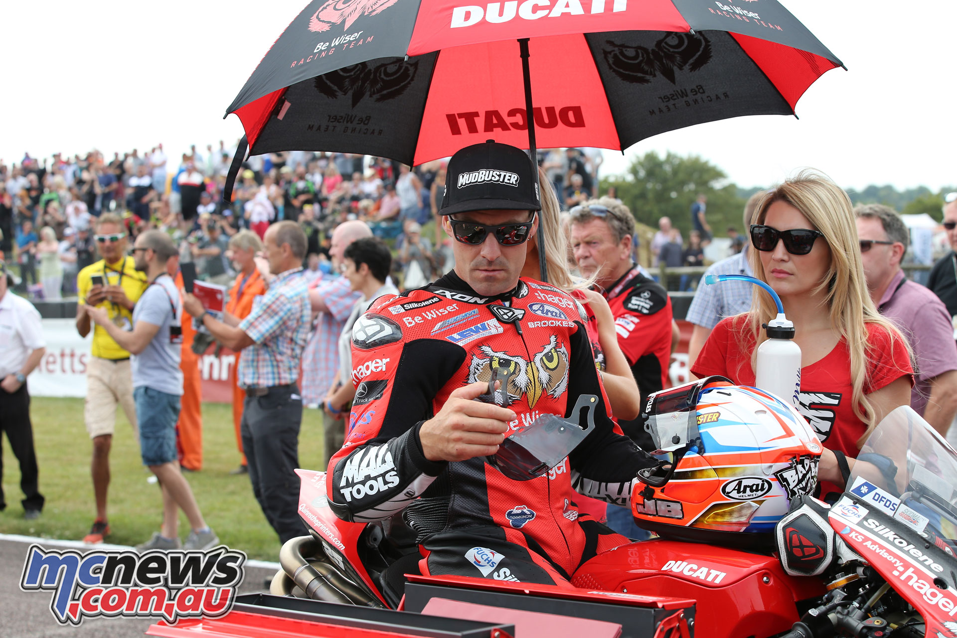 British Superbike BSB Rnd Thruxton Josh Brookes AROA