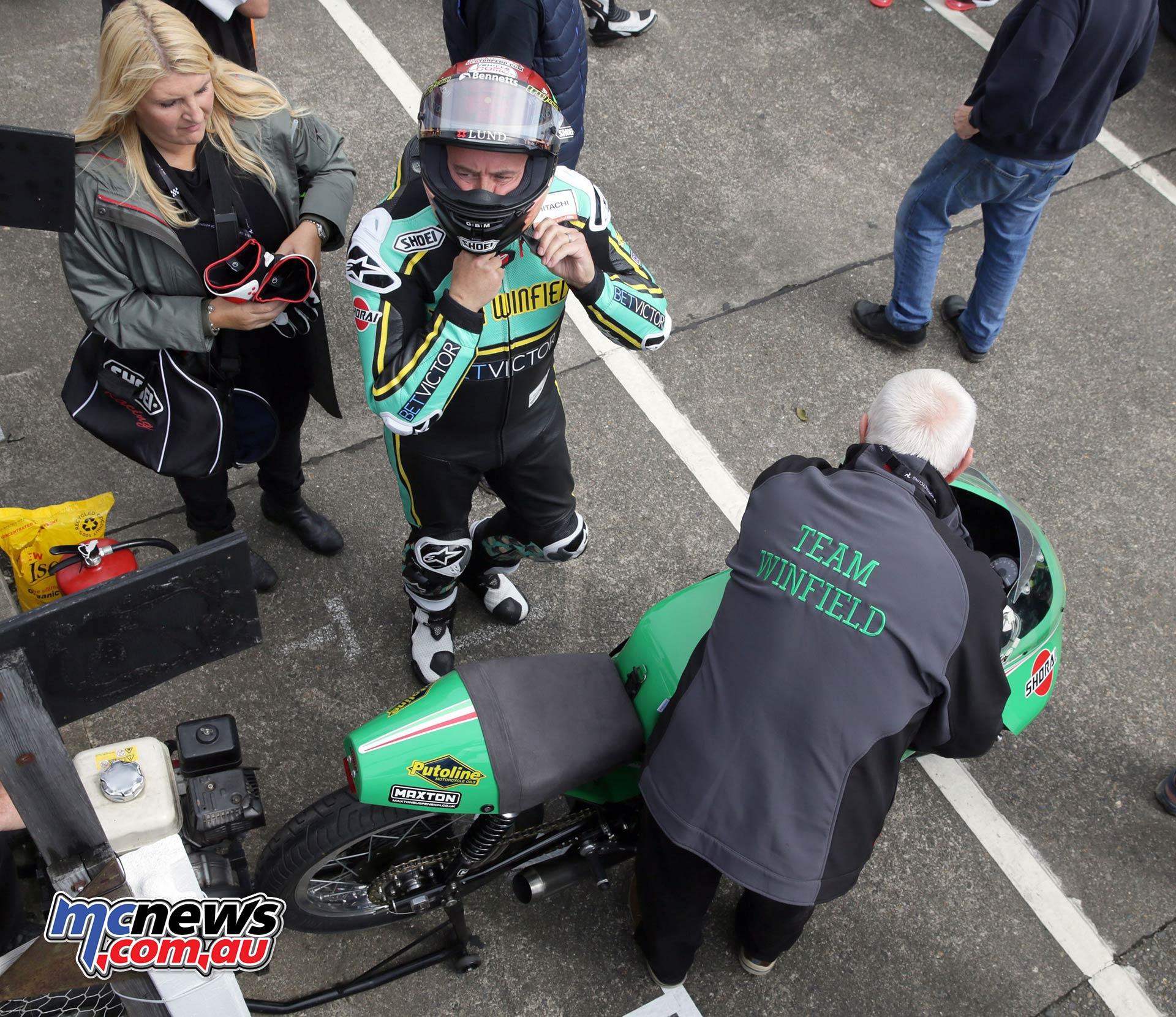 Classic TT PracticeQ McGuinness Paton