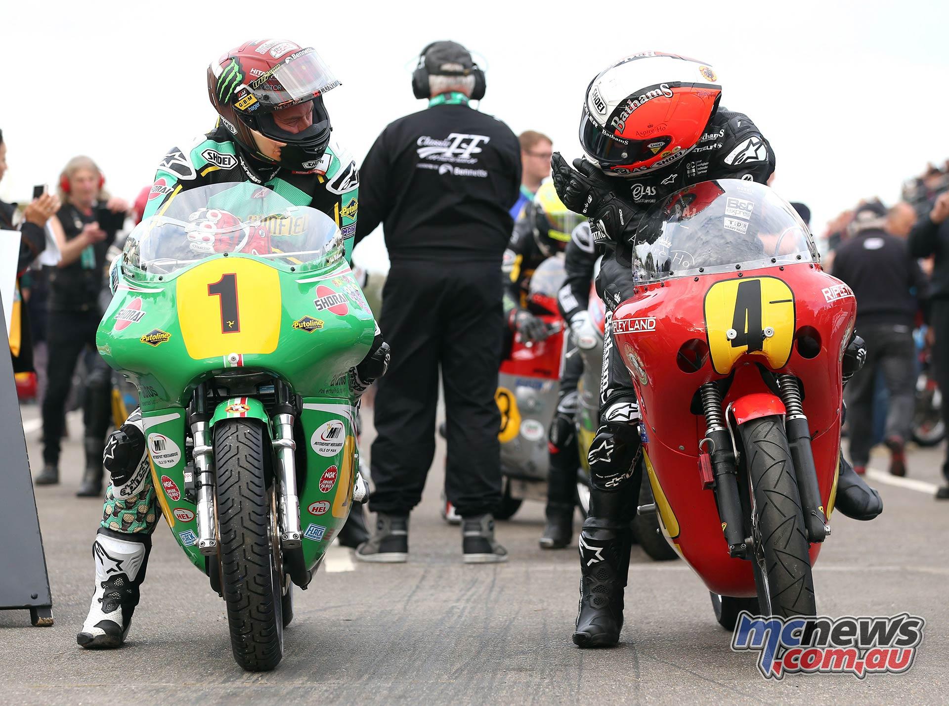 Classic TT PracticeQ McGuinness Rutter