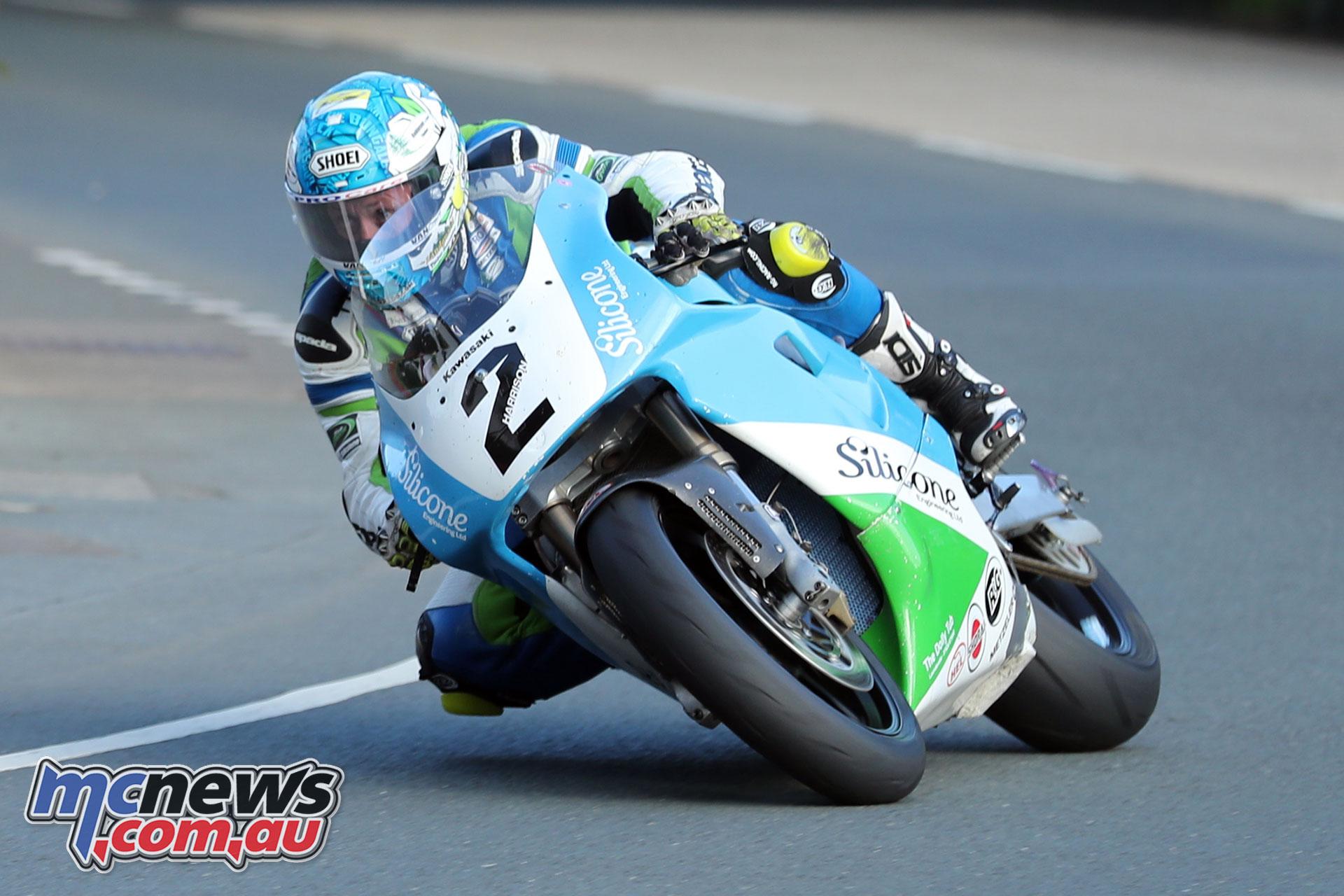 Classic TT Qualifying Dean Harrison