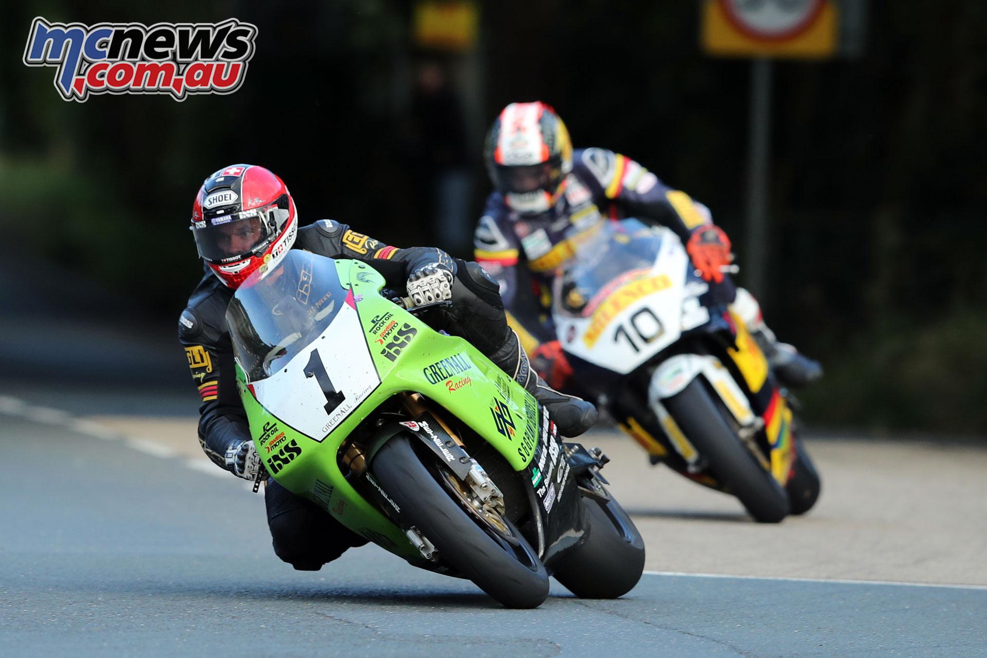 Classic TT Qualifying Horst Saiger Conor Cummins