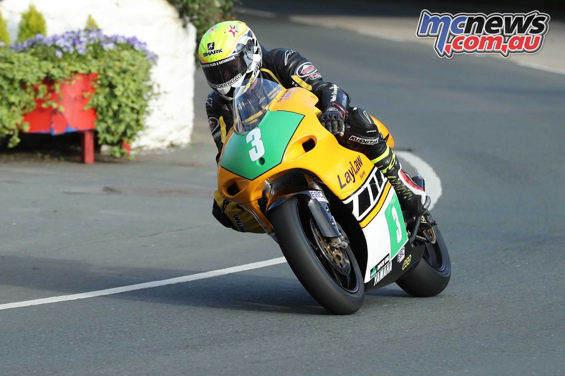 Classic TT Qualifying Ian Lougher