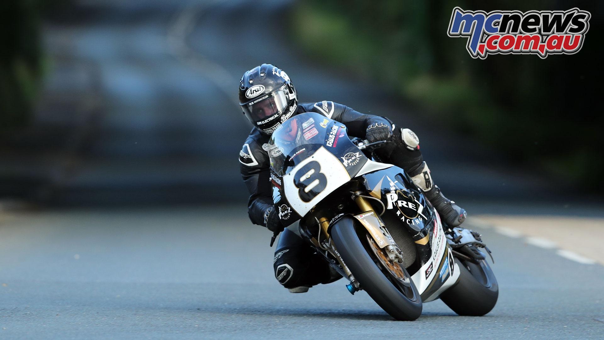 Classic TT Qualifying Jamie Coward