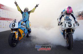 Classic TT Superbike David Johnson Win