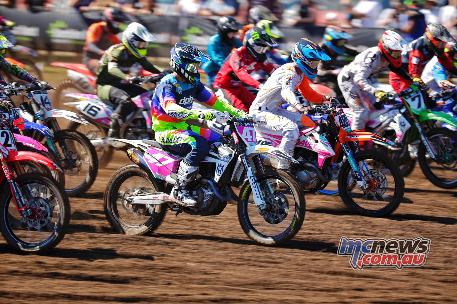 MX Nationals Rnd Coolum MX Starts Waters