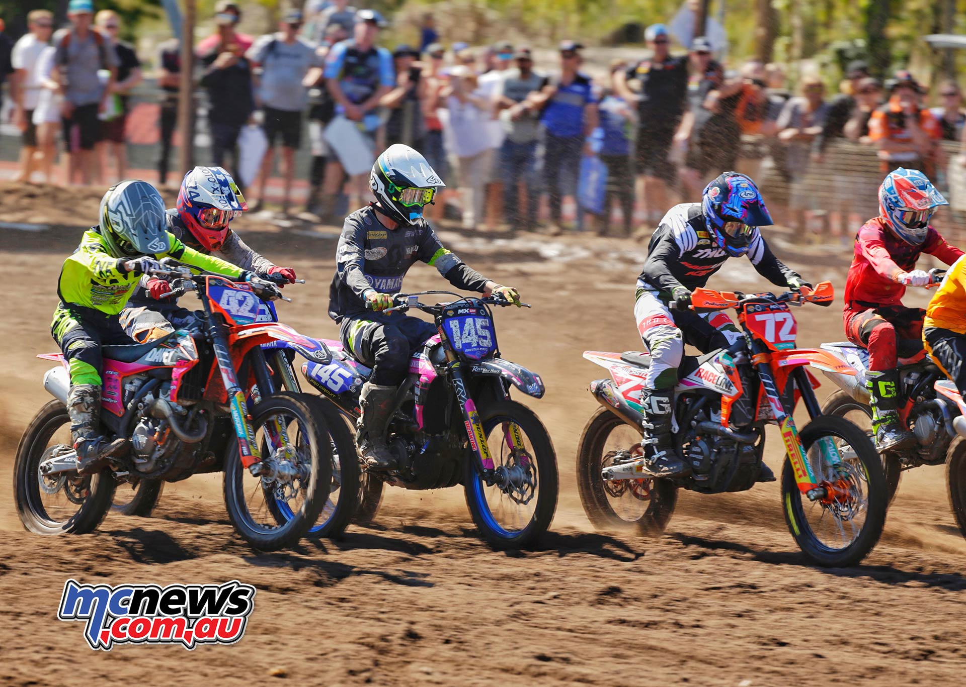 MX Nationals Rnd Coolum MXD Starts